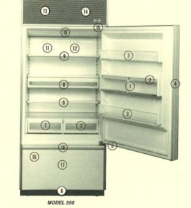 Troubleshooting your Sub-Zero 550 Refrigerator